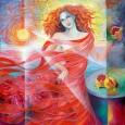 Anna Ruggiero, Colori Rosso