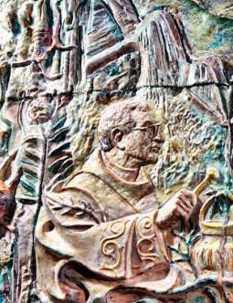 L'Eucaristia (particolare)